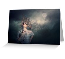 Lost in The Wind. Greeting Card