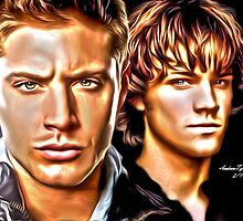 The Winchester Brothers by andrewtylerrose