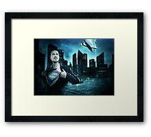 Super mâle Framed Print