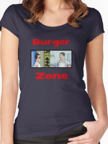 Burger Zone Women's Fitted Scoop T-Shirt