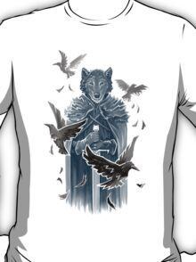 Wolf And Ravens T-Shirt
