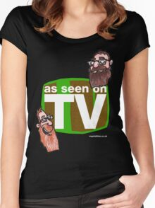 As seen on TV top Women's Fitted Scoop T-Shirt