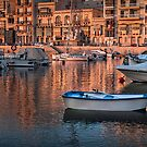 St Julians Bay Malta by Edwin  Catania