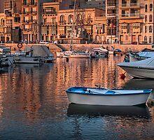 St Julians Bay Malta by Edwin  Catania