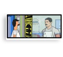 Archer's Burgers Canvas Print