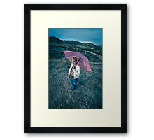 no rain Framed Print