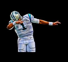 Cam Newton Dab by iamacreator