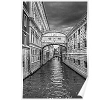 artistic view of Venice,Italy Poster