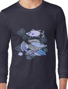 Two  Fishes and Cockleshells Long Sleeve T-Shirt