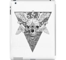 Ajna awakening - lines iPad Case/Skin