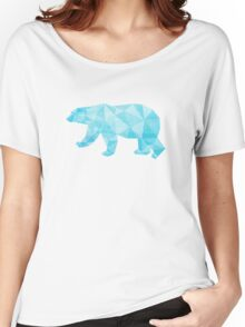 Geometric Ice Bear Women's Relaxed Fit T-Shirt