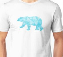 Geometric Ice Bear Unisex T-Shirt