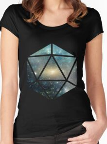 D20 The Greener Side Women's Fitted Scoop T-Shirt