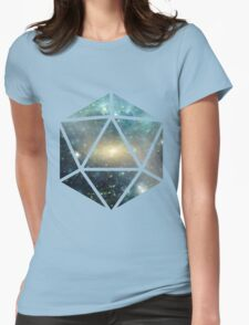 D20 The Greener Side Womens Fitted T-Shirt