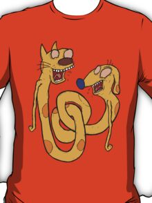 CatDawg - Coloured T-Shirt
