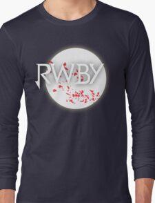 RWBY red moon blossoms Long Sleeve T-Shirt