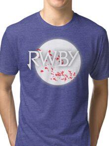 RWBY red moon blossoms Tri-blend T-Shirt