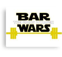 Star Wars - The Gains Awaken Canvas Print