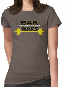 Star Wars - The Gains Awaken Womens Fitted T-Shirt