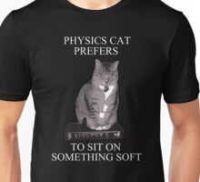 Physics Cat Unisex T-Shirt
