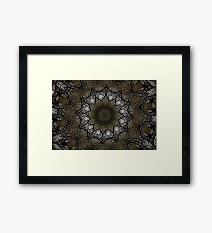Woodland Web Framed Print