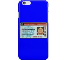 License To Kill iPhone Case/Skin
