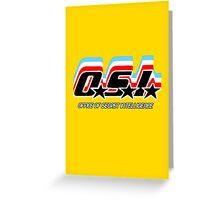 OSI (Office of Secret Intelligence) Greeting Card