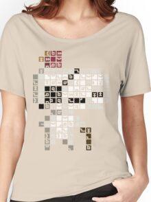 FEZ Geezer Tiles Women's Relaxed Fit T-Shirt