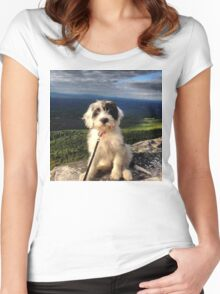 Mountain Pup Women's Fitted Scoop T-Shirt
