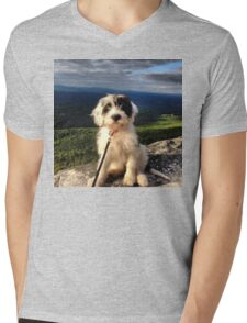 Mountain Pup Mens V-Neck T-Shirt