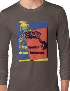 Retro Old School Pop Art Long Sleeve T-Shirt