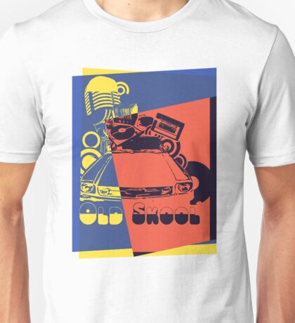 Retro Old School Pop Art Unisex T-Shirt