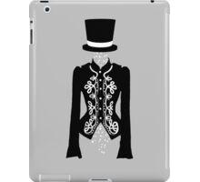 white rose ghost  iPad Case/Skin