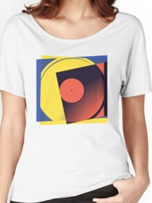 Pop Art Vinyl Record 1 Women's Relaxed Fit T-Shirt
