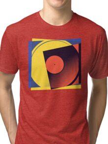 Pop Art Vinyl Record 1 Tri-blend T-Shirt