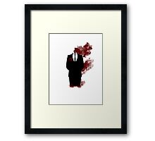 Bloody mist Framed Print
