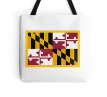 Maryland Flag Tote Bag