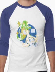 Dovaman 2 Men's Baseball ¾ T-Shirt