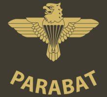 Parabat T-Shirt (Yellow) by civvies4vets
