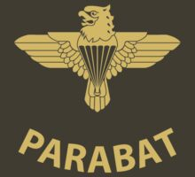Parabat T-Shirt (Yellow) by civvies4vets
