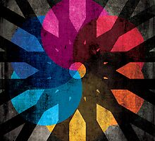 Shapes and Colors Abstract by Denis Marsili
