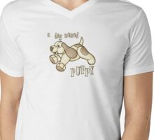 A Dog Named Puppy Mens V-Neck T-Shirt