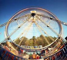 Ferris Wheel 2, Champlain Valley Fair, Vermont by HagstarStudios
