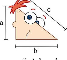 Phineas & Ferb Pythagorean theorem by Monishuw