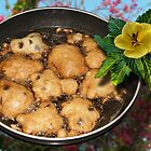 Puff Fritters with Chocolate Chips by GolemAura