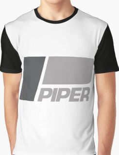 PIPER AIRCRAFT - RETRO LOW VIZ Graphic T-Shirt