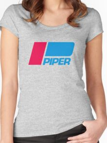 PIPER AIRCRAFT _ RETRO Women's Fitted Scoop T-Shirt