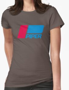 PIPER AIRCRAFT _ RETRO Womens Fitted T-Shirt