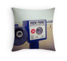 Beside the seaside Throw Pillow