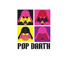 Pop Darth Photographic Print